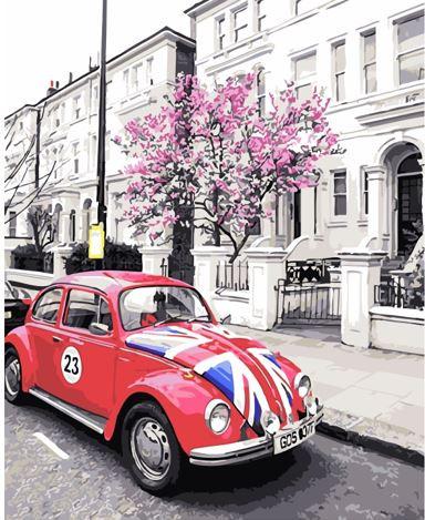 Картина по номерах Bookopt Вулицями Лондона 40х50 (ВК1462)