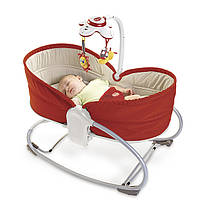 Кресло - кроватка - качалка 3 в 1 Tiny Love «Мамина любовь» (Красное)
