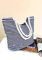 Тканевая пляжная сумка «Sunset» (3067)