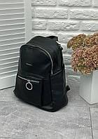 Женский рюкзак экокожа «Aron» (9300) Черный