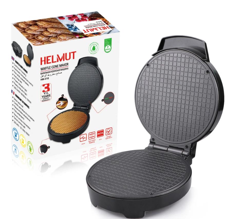 Вафельница электрическая Helmut HM-518 для тонких вафель, 100 Вт