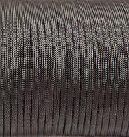 Шнур нейлоновый 4 мм (паракорд) серый, 50 м