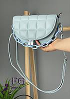 Женская сумочка клатч «Madrid» (3500) Голубой