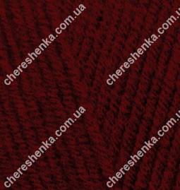 Нитки Alize Lanagold 538 темно-красный