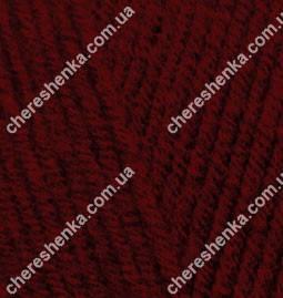 Нитки Alize Lanagold 538 темно-красный, фото 2