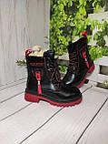 Демисезонные ботиночки для девочек, фото 4