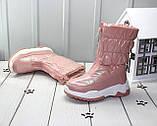 Зимові чобітки - дутики для дівчаток, фото 2