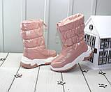 Зимові чобітки - дутики для дівчаток, фото 3