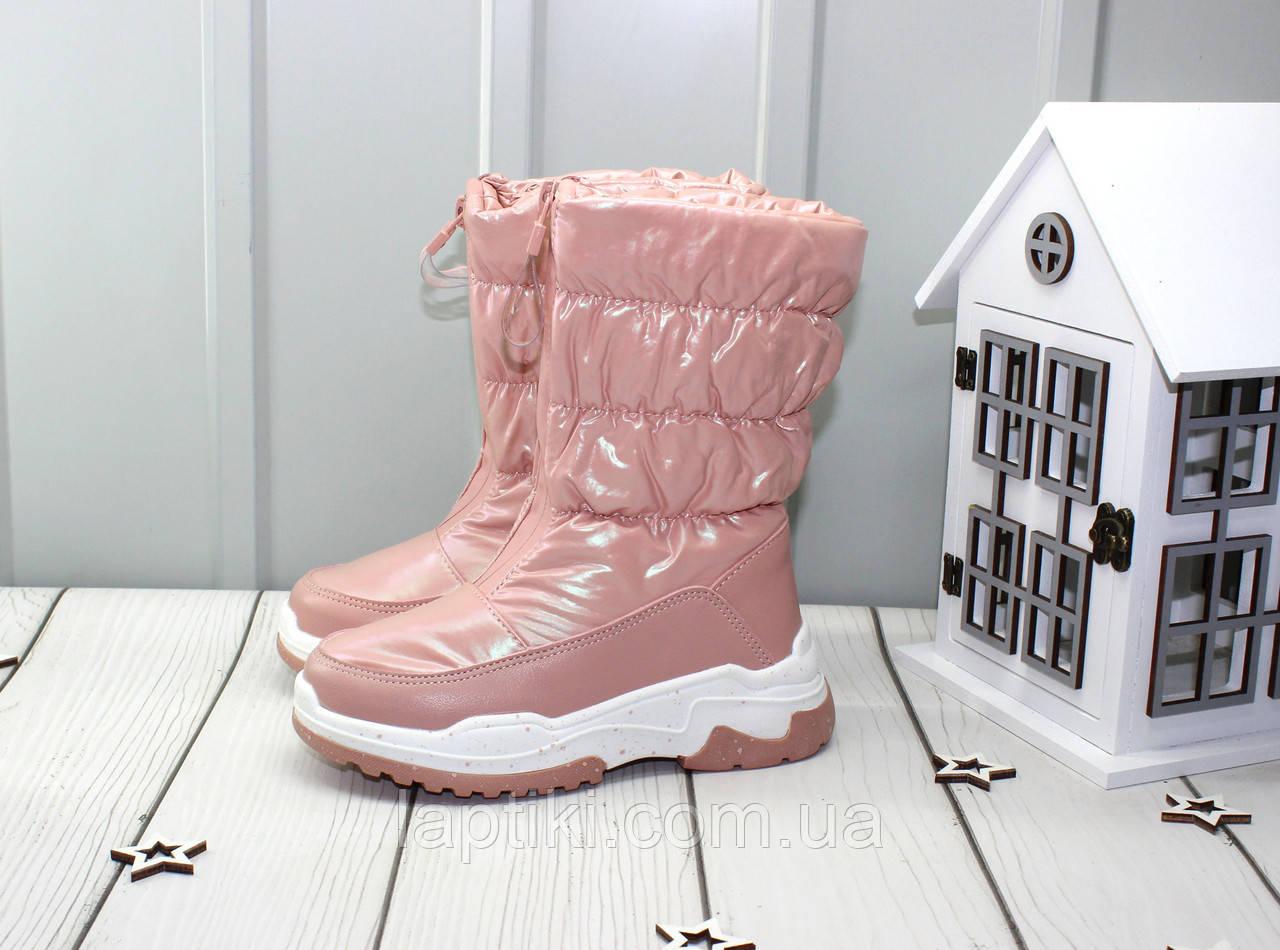 Зимові чобітки - дутики для дівчаток