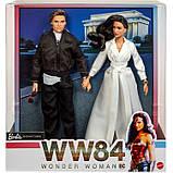 Набір колекційних ляльок Барбі Диво-жінка Barbie Diana Prince & Steve Trevor Wonder Woman 1984 Dolls GJJ49, фото 7