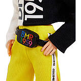 Лялька Кен Barbie Ken BMR1959 Fully Poseable Doll Red Hair with Freckles, Split Color Hoodie with Track Pants &, фото 4