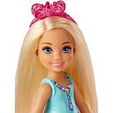 Лялька Барбі Челсі і Єдиноріг Дримтопия Barbie Dreamtopia Chelsea Doll and Unicorn FPL82, фото 2