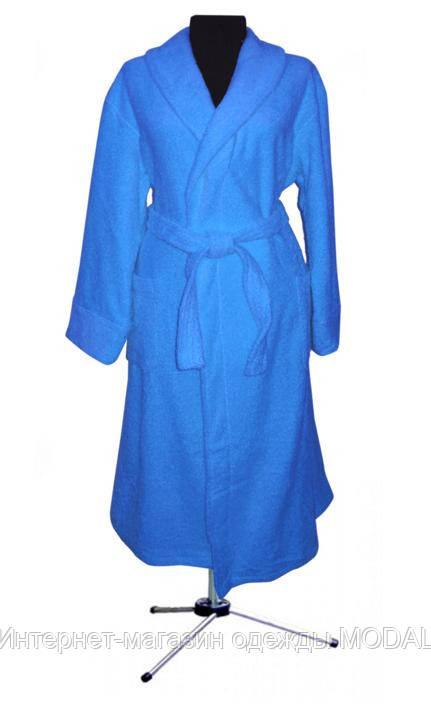 Махровый халат 100% хлопок 52-54 (разные цвета) - Интернет-магазин одежды MODAL в Киеве