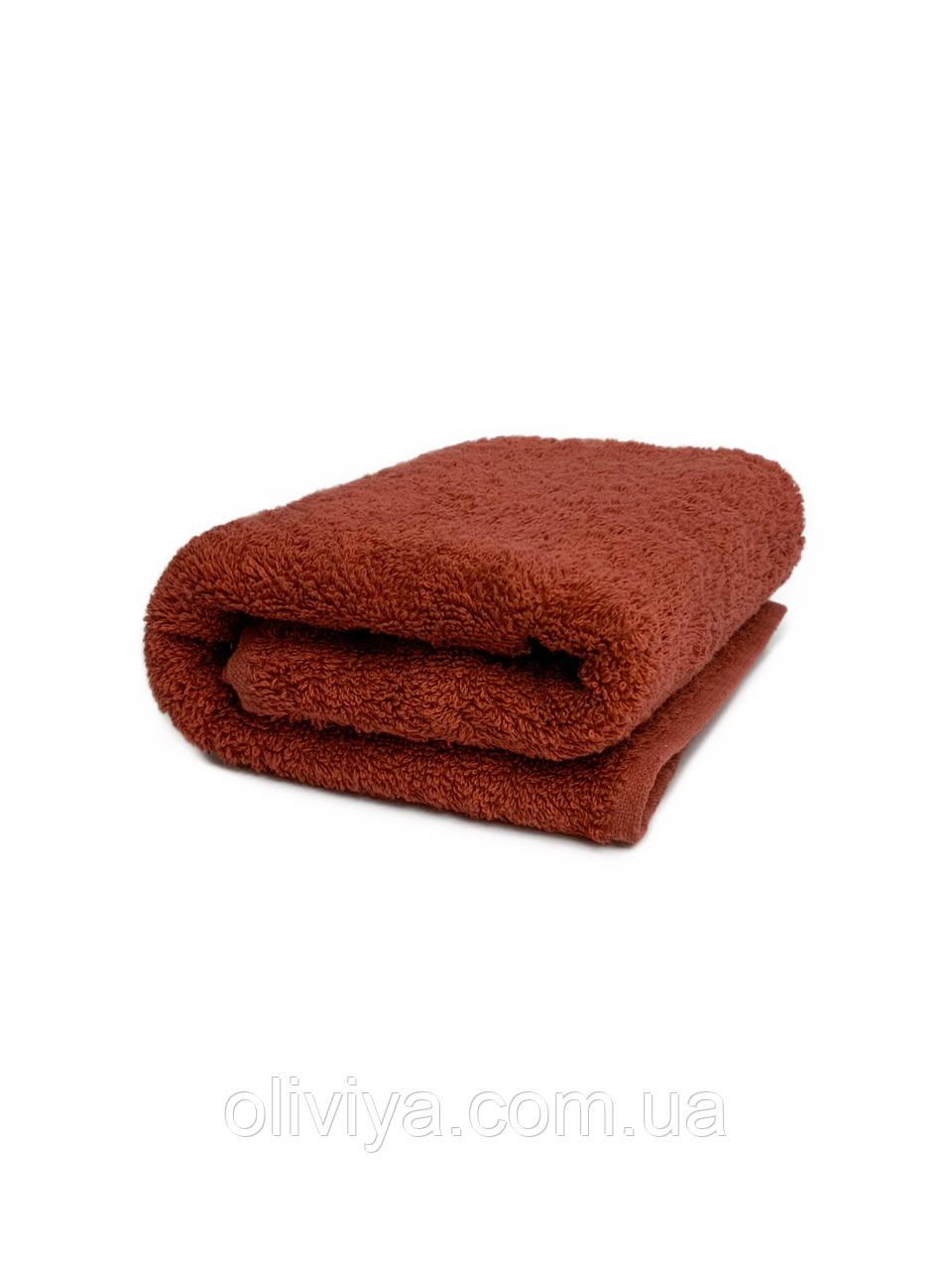 Рушник для рук 40х70 паприка
