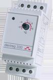DEVIreg 330 для установки в щиток на профиль DIN