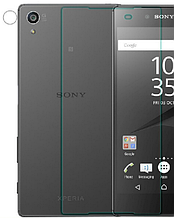Защитное стекло на заднюю крышку Optima 9H для Sony Xperia Z5 Premium