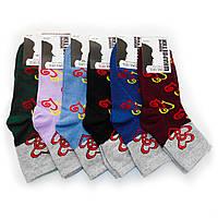 Жіночі шкарпетки Топ-Тап від 9,00 грн./пара (серця), фото 1