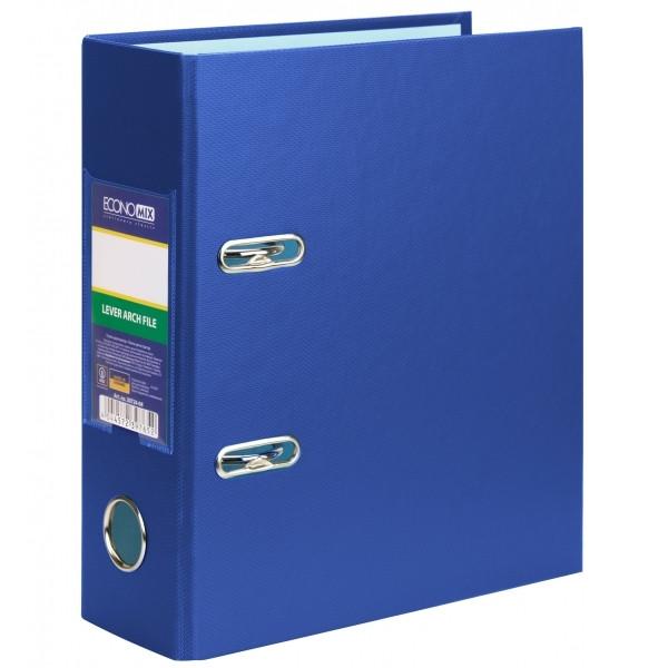 Папка-реєстратор А5, Economix, 70 мм, синя * E30724-02