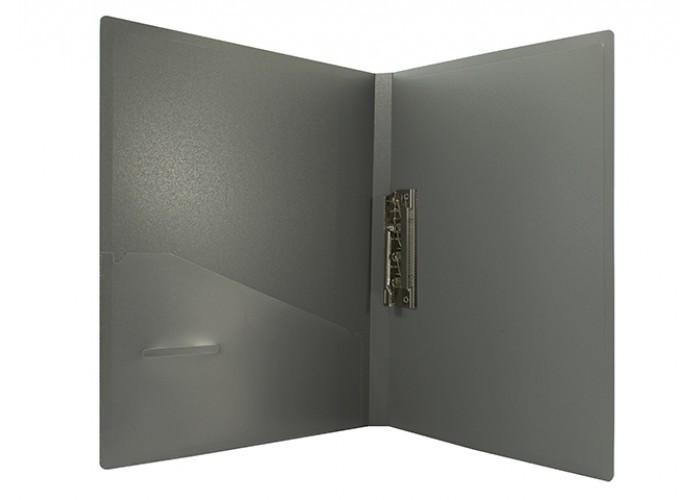 Папка с прижимом А4 Economix Е31202 пластиковый 20мм с боковым прижимом и карманчиком
