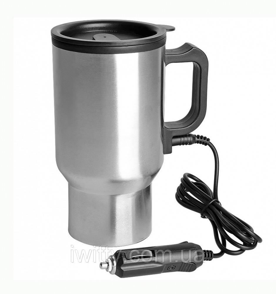 Термокружка автомобільна електрична 350 мл Electric Mug 12V ART-0457