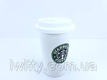 Керамическая термо-чашка Starbucks, фото 2