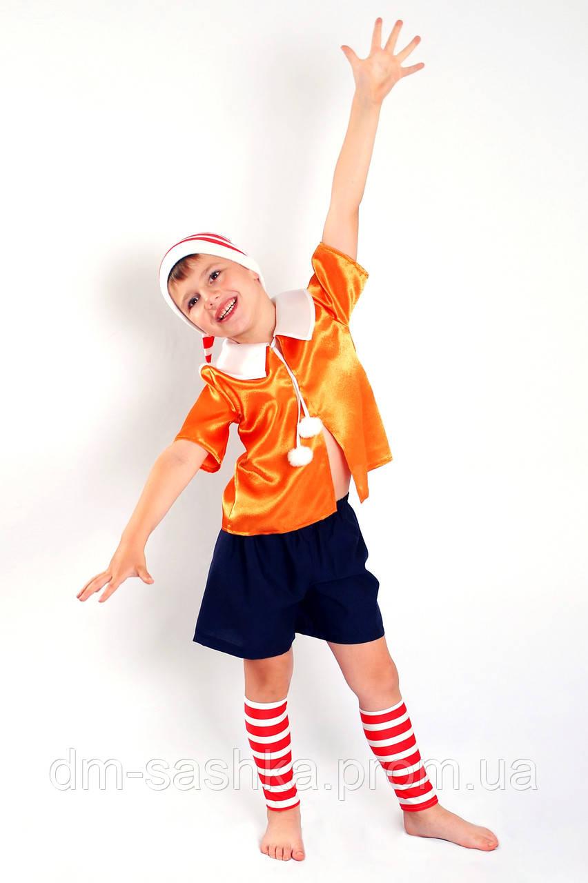 Карнавальный костюм для мальчиков Буратино 128р.