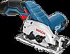 Пила ручная циркулярная Bosch GKS 10,8 V-LI аккумуляторная 06016A1001