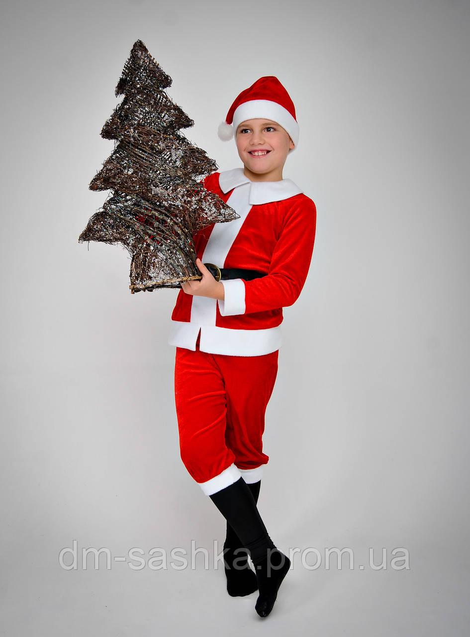 Карнавальный костюм Санта Клаус 128р.