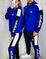 Мужской спортивный костюм Адидас на флисе. Теплый мужской спортивный костюм adidas. Зимний костюм утепленный