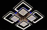 Стельова світлодіодна люстра 2727-4CF LED 3color dimmer, фото 2