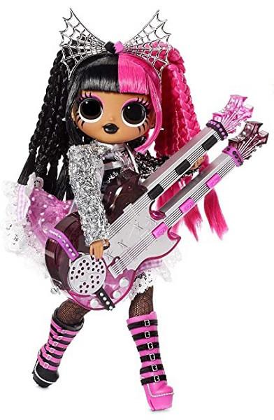 L.O.L. Surprise! O.M.G. Remix Rock - Metal Chick Fashion Doll +15 Surprises (Леди-металл), 6+ (577577)