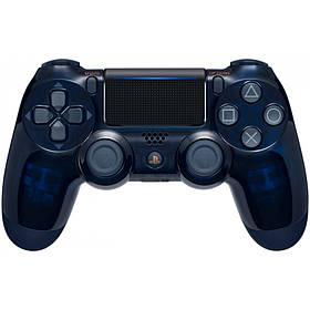 Джойстик Sony DualShock 4 V2 для PS4 Геймпад Беспроводной Синий (Прозрачный)