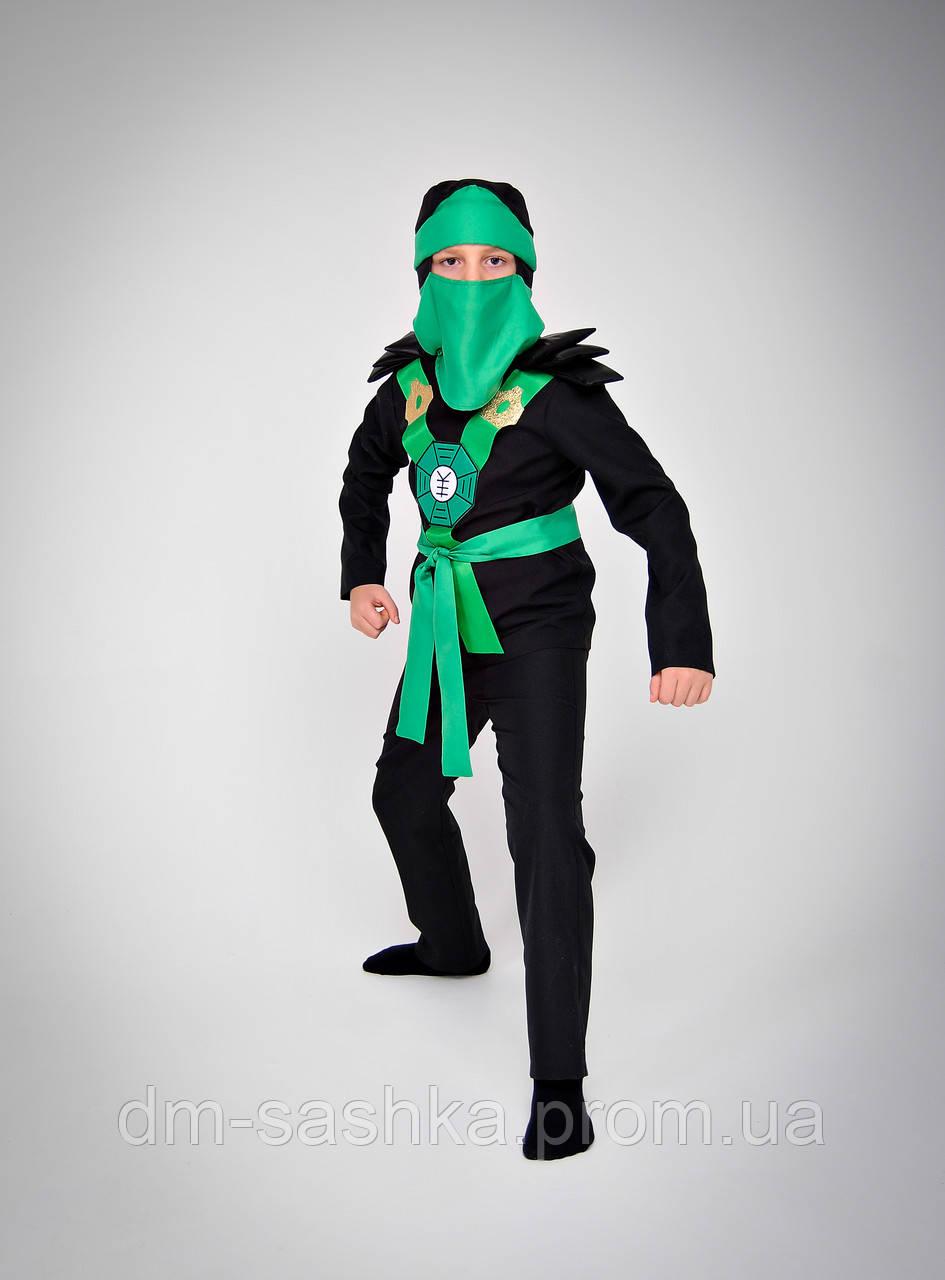 Карнавальний костюм Ниндзяго зелений 98р.