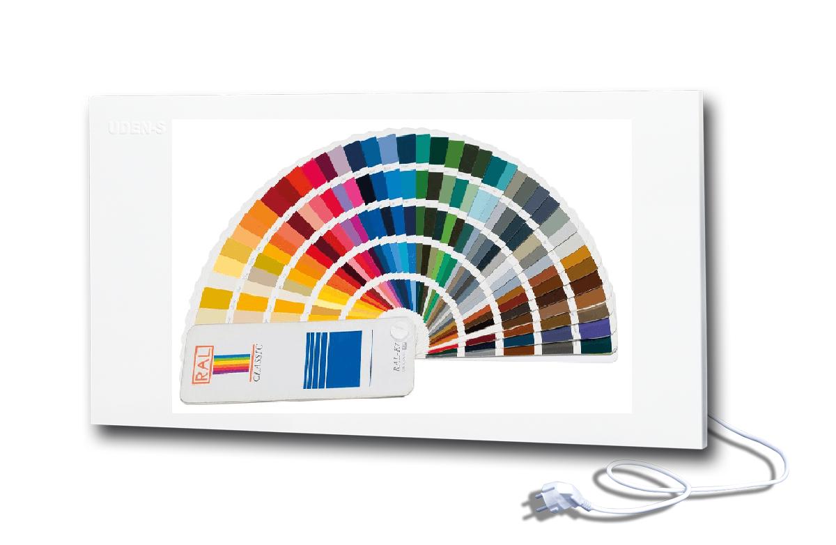 Металлокерамический дизайн-обогреватель Uden-S UDEN-700 универсал одноцветный по каталогу RAL