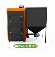 Автоматический пеллетный котел  для дома КОТэко Geyzer 98