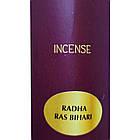 Аромапалички Радга Рас Біхарі (Radha Ras Bihari Masala), 10 штук, фото 5