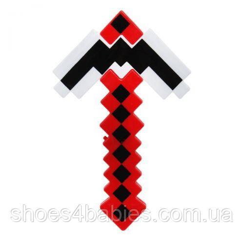 Кірка MINECRAFT (червоний)