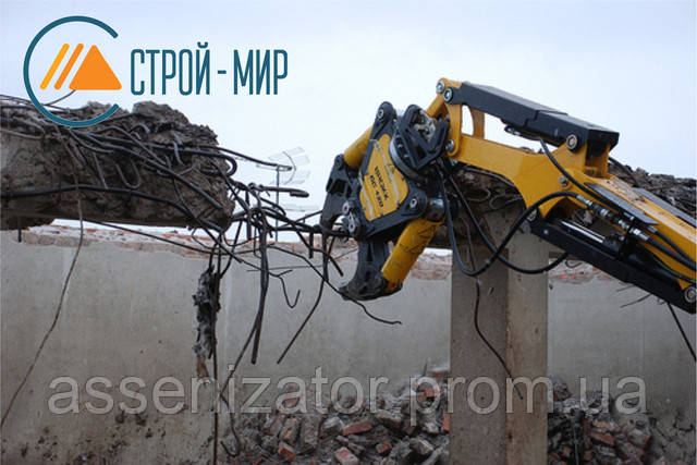 Новое удобное оборудование для демонтажа конструкций и зданий.
