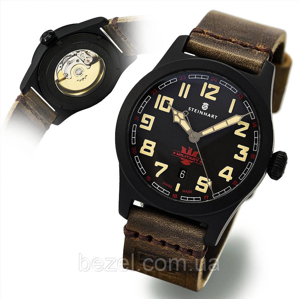 Чоловічі годинники Steinhart MILITARY 42 black automatic 107-0634