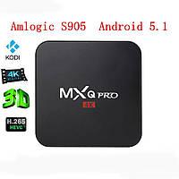 Медиаплеер Android TV MXQ Pro Amlogic S905 1Gb/8Gb LAN AV + пульт ДУ!, фото 1