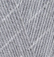 Нитки Alize Lanagold 800 21 серый меланж
