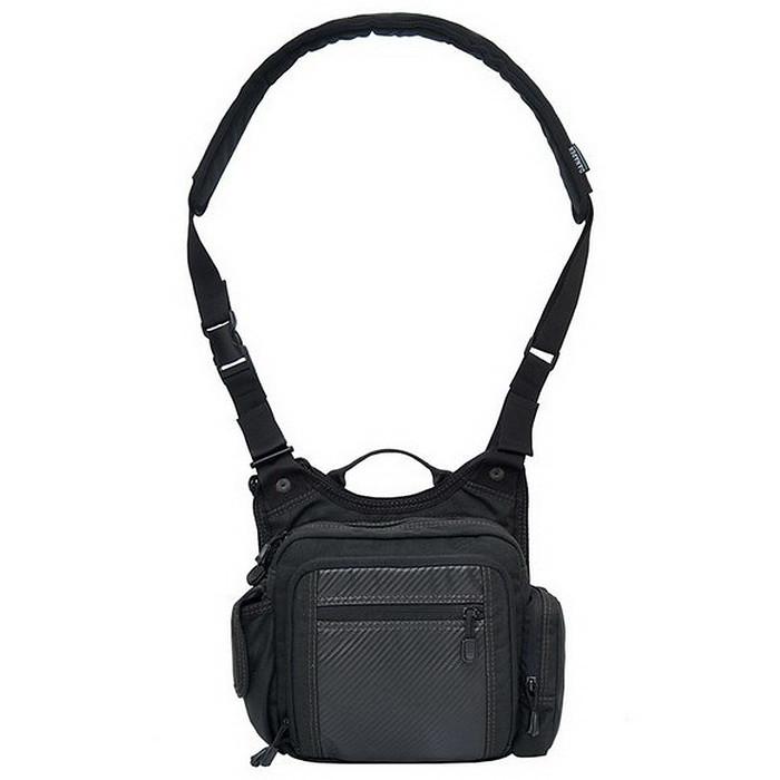 Сумка для прихованого носіння зброї DANAPER Alphyn Urban S (290х260х100мм), чорна