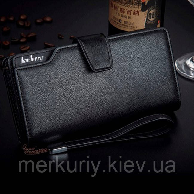 3398a068c0ec Мужской клатч Baellerry Business (черный): продажа, цена в Киеве ...