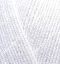 Нитки Alize Lanagold 800 55 белый