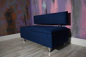 Мягкий диван с нишей в офис VZ-28-1