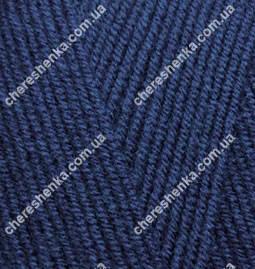 Нитки Alize Lanagold 800 58 темно синий, фото 2