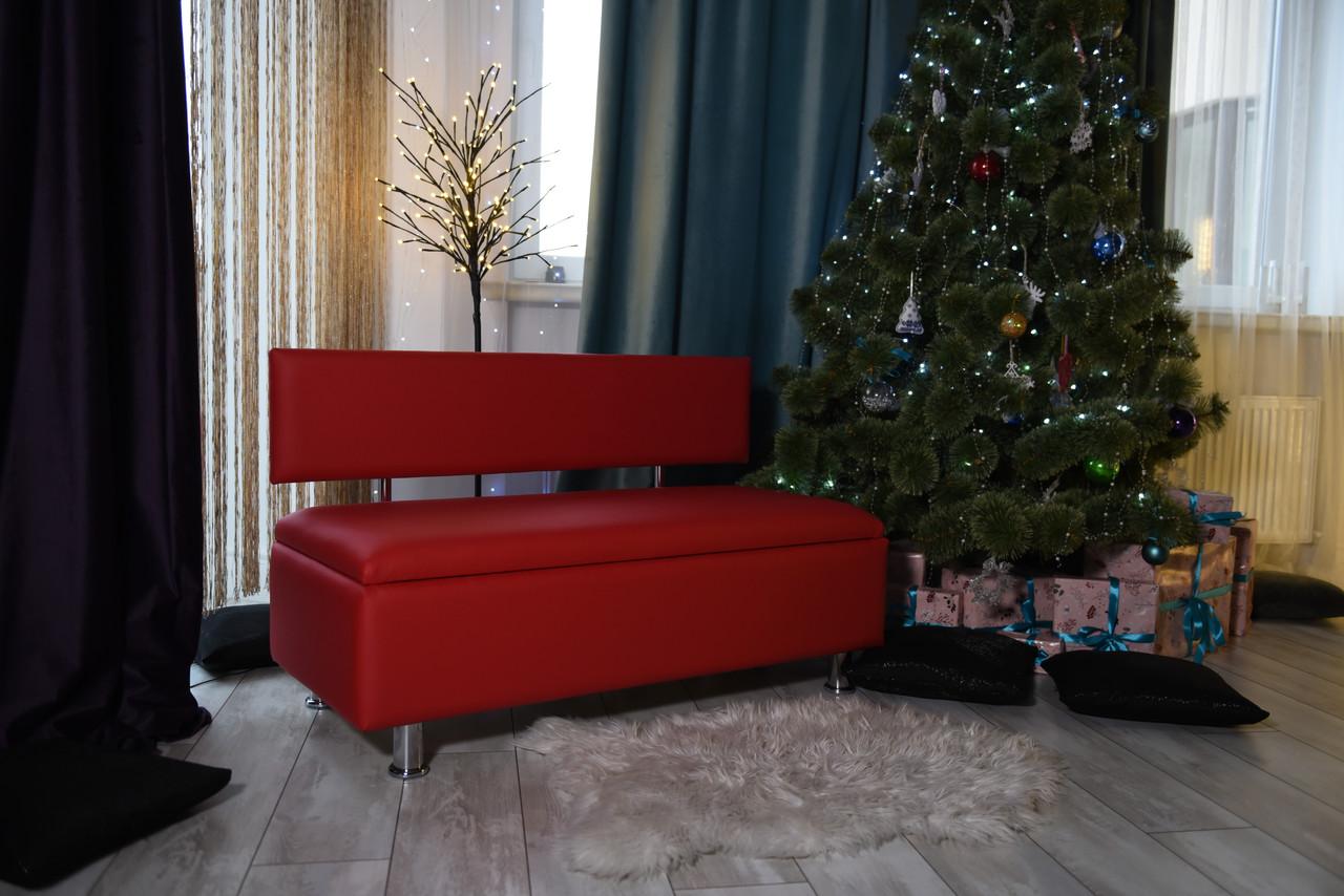 М'який диван з нішею в офіс VZ-28-1