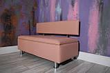 Мягкий диван с нишей в офис VZ-28-1, фото 7