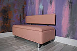 М'який диван з нішею в офіс VZ-28-1, фото 7