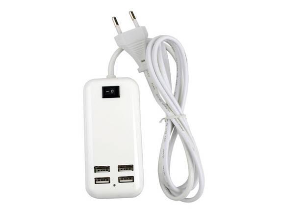 USB Хаб Hub на 4 порта сетевой  *1347, фото 2